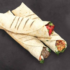 Chicken Kofta Wrap